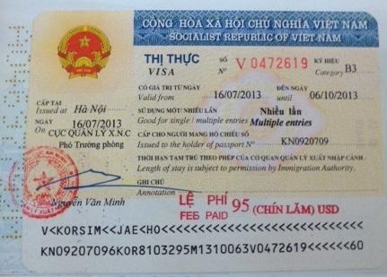 Extension Vietnam Business Visa, Vietnam visa DN, Vietnam visa type DN