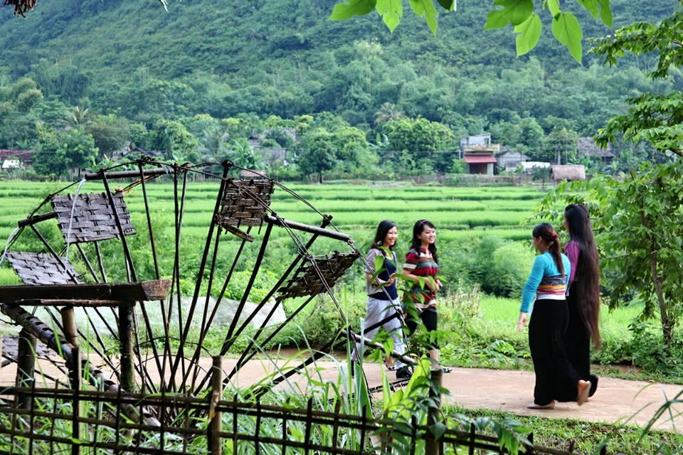 Mai Chau in Vietnam