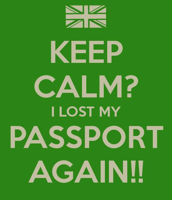 Lost my passport in Vietnam, lost my passport abroad, lost my passport